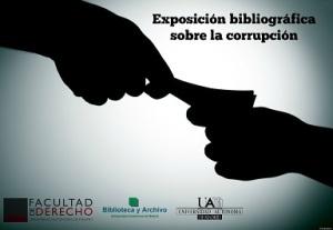 Exposición bibliográfica sobre la corrupción