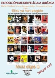 Exposición y Concurso mejor película jurídica