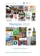 Memoria de la Biblioteca de Derecho 2015