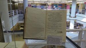 Exposición del fondo antiguo de D. Alfredo Gallego Anabitarte